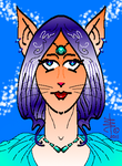 Kitty Girl by DonnaBarr