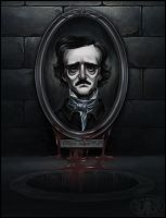 Edgar Allan Poe by Cthulhu-Great