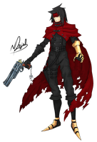 Vincent Valentine by WingBlade48