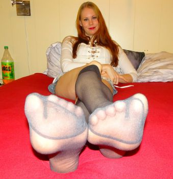 Here Is A Full Body View, Hope U'll Enjoy  by MissSexyfeet24