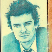 Orlando Bloom #Sketchbook by dankershaw