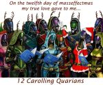 On the 12th day of Masseffectmas.... by efleck