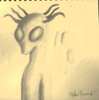 Space Alien by The-Ray3000