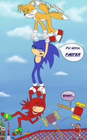 We're Sonic Heroes by Melody-Chaos
