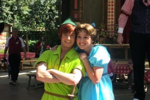 Peter Pan and Wendy Darling by Alli2345