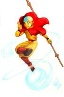 Aang-commission by CE-Rap