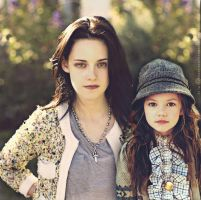 Bella and Renesmee by thecrazythingsofRomy