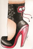 Rock And Roses High Heels 2 by HANNA-PRETTY