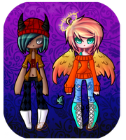 Angel And Demon Auction 1 Point Or 1 Cent SB(Open) by chickid11adopts