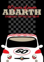 Abarth 60th anniversary poster by LasseBauer