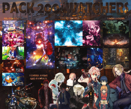 PACK 200+ WATCHERS /STOP SHARE/ by BCaves