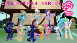 Celebrating 4 Years of My Little Pony by Out-Buck-Pony