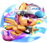 (mlp)Fly Scootaloo by Flappy27