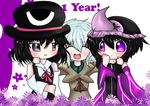 Len'en 1 year anniversary or somethin by Psychoticly-Cute