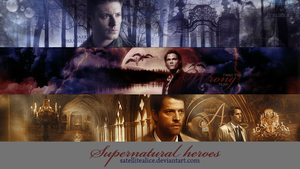 banners6 - supernatural heroes by SatelliteAlice