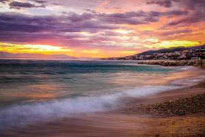 Beach Sunset by matejpaluh