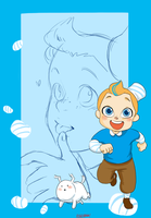 Tintin-sugar rush by SAcommeSASSY