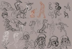Sketchdump 9-04-12 Part 1 by SuperStinkWarrior