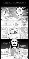 Bank Robbery Comic by LMP-TheClay