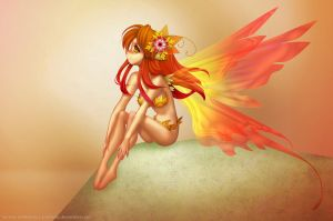 Fall Fairy by sererena