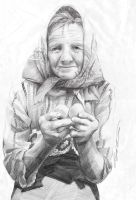 the old woman by cricetus89