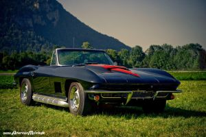 corvette convertible by AmericanMuscle