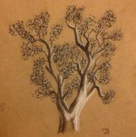 Tree (leaves added) by sunfoot