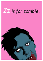 and Zz is for zombie. by chinkeyed