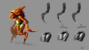 Hive Jump: Bi-pedal Insect by Nyte-Tyme