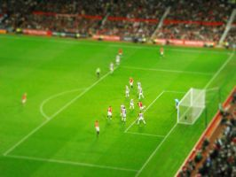 Manchester United Tilt Shift by ShadowplayCJ