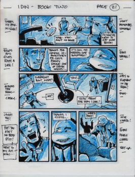 IDW TMNT Book Two Pg 21 by Kevineastman