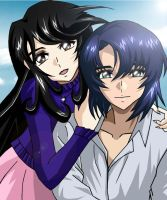 With Athrun ...... by lovedreams