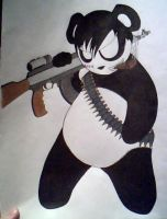Mercenary Panda by emo-nerd
