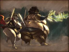 Adipose Adventurers by the-murdellicious