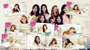 Girl's Generation  Ace Bed Promotion by Lissette8017