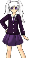 Ilya School Uniform Purple by Lyra-Elante