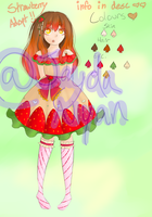 Strawburry Adoptableeeeee *SOLD* by Jayda-Nyan