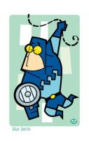 Blue Beetle by Montygog