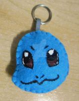 Squirtle Felt Keyholder by 402ShionS3