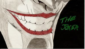 Joker's Grin by mkscorpion202