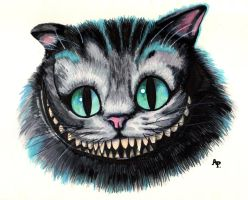 Chat Cheshire by Alizee-P