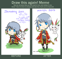 Draw This Again Meme by Hourglass34