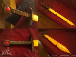 Finn's Adventure Time Sword V3 by JazzLizard