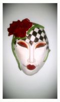 Ceramic Mask by AbsoluteBaroque