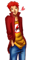 Wally West by Requiem-of-a-Dreamer