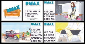 DMAX Advertising Brochure Concept by mikymeg