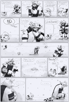 Team LoveShock: Mission 5 P.26 by CheesyCrocs