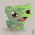 DailyArt 1 - Bulbasaur by alpin-j