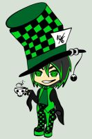 Mad Hatter Chibi by hatirrisworldproject