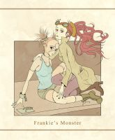 Frankie's Monster by nicolabuckleyart